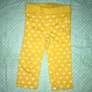 Yellow pants for 12 mouth baby's